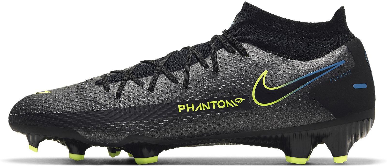 Kopačky Nike  Phantom GT Pro Dynamic Fit FG černá