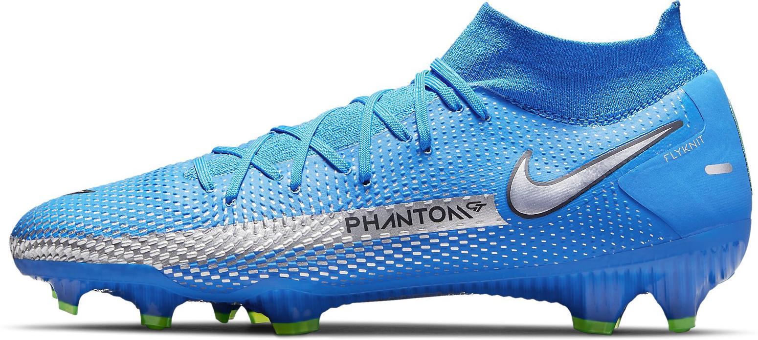 Kopačky Nike  Phantom GT Pro Dynamic Fit FG modrá