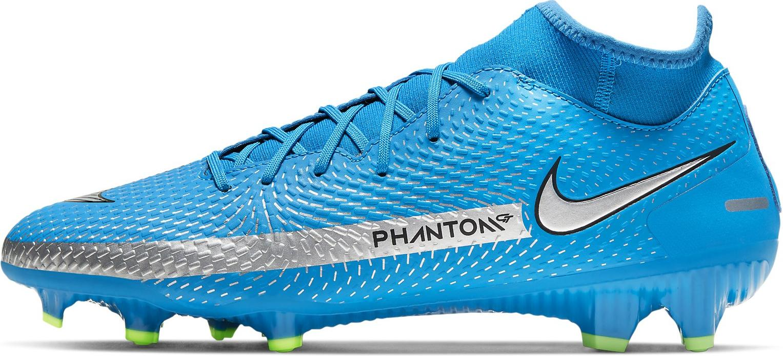 Kopačky Nike PHANTOM GT ACADEMY DF FG/MG modrá