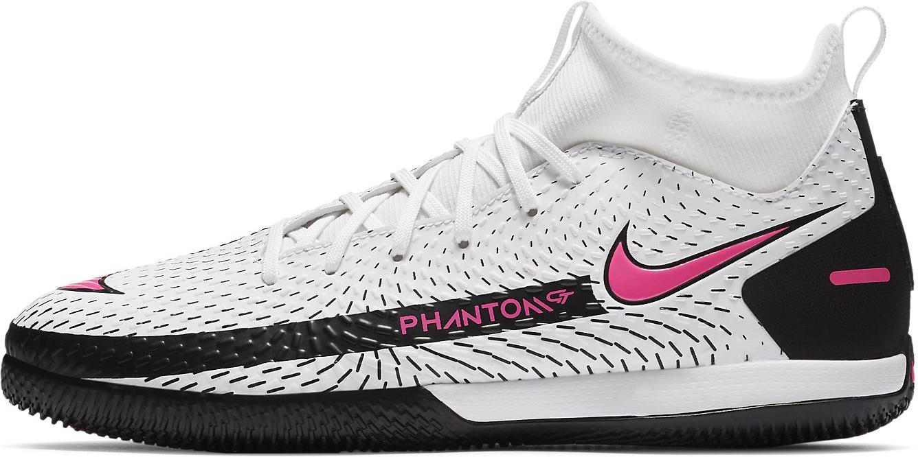 Sálovky Nike JR PHANTOM GT ACADEMY DF IC bílá