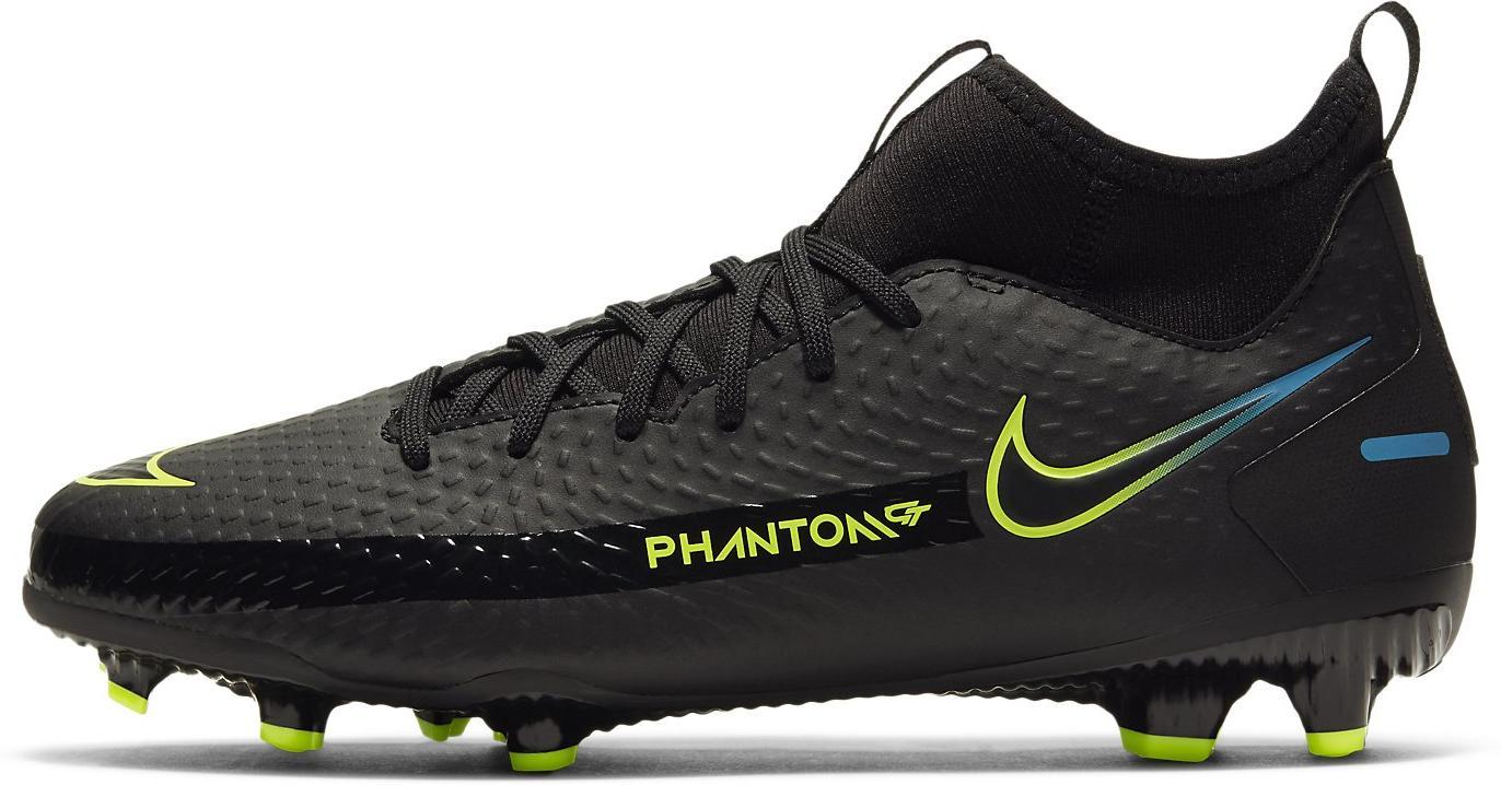 Kopačky Nike JR PHANTOM GT ACADEMY DF FG/MG černá