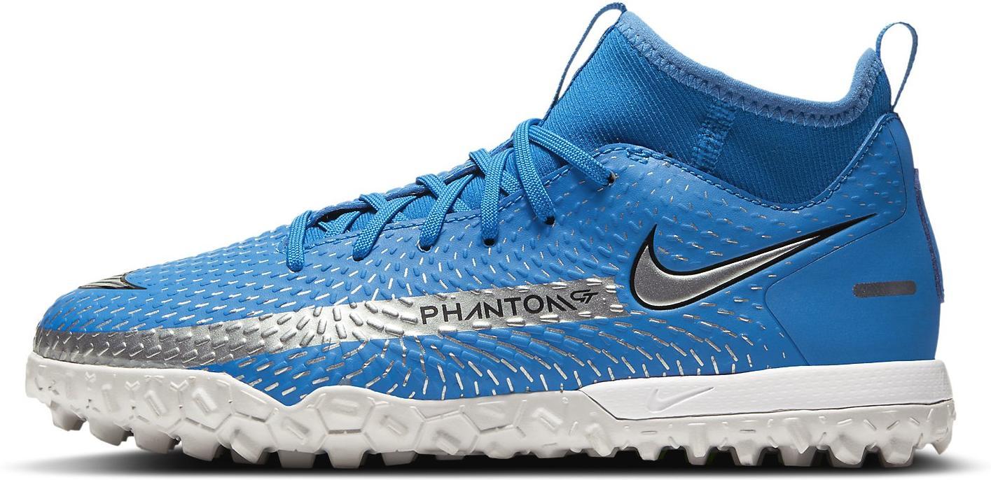 Kopačky Nike JR PHANTOM GT ACADEMY DF TF modrá