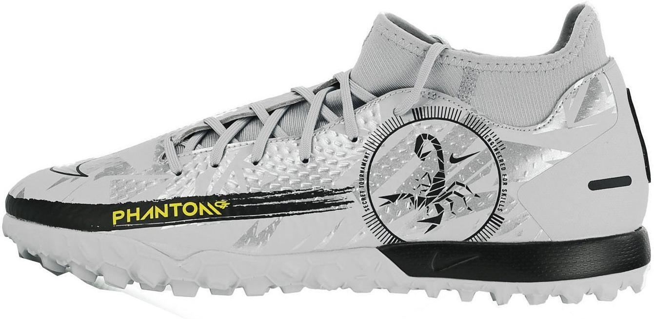 Kopačky Nike PHANTOM GT ACADEMY DF TF šedá