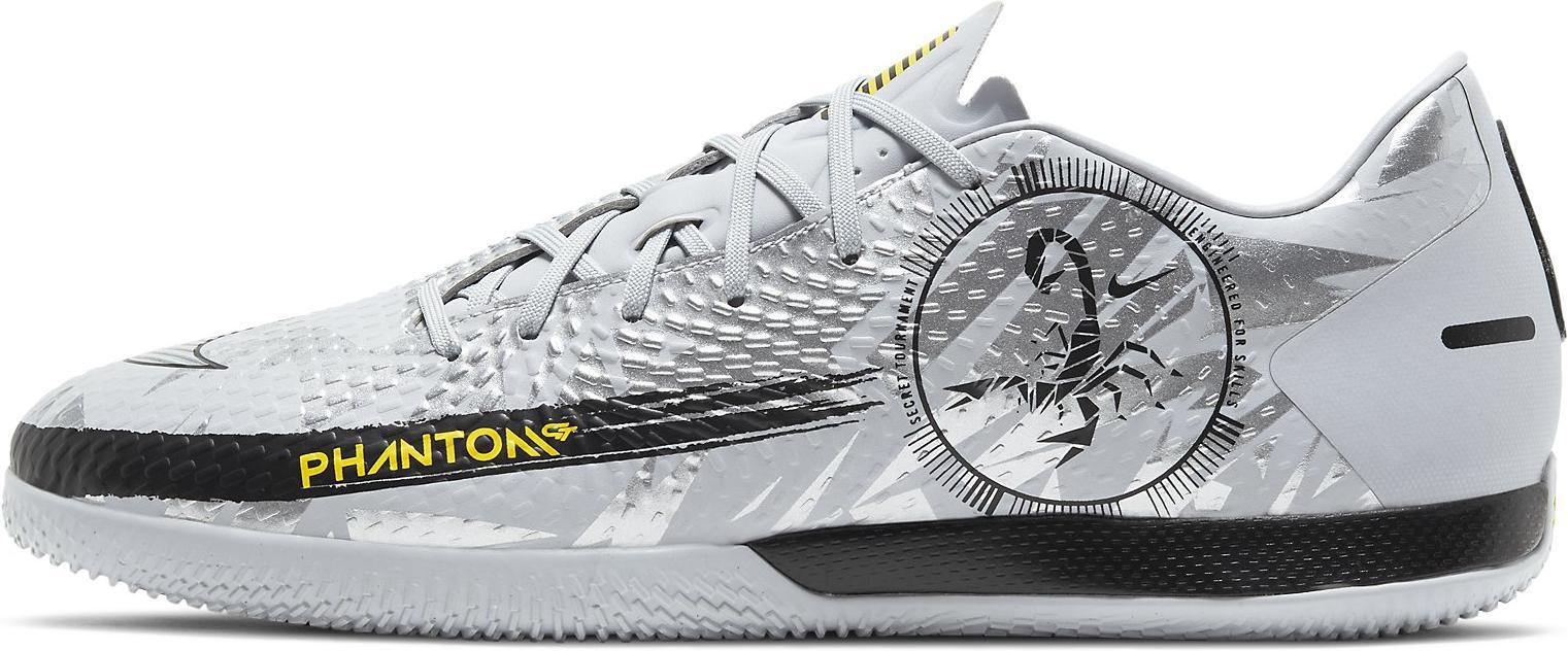 Sálovky Nike PHANTOM GT ACADEMY IC šedá