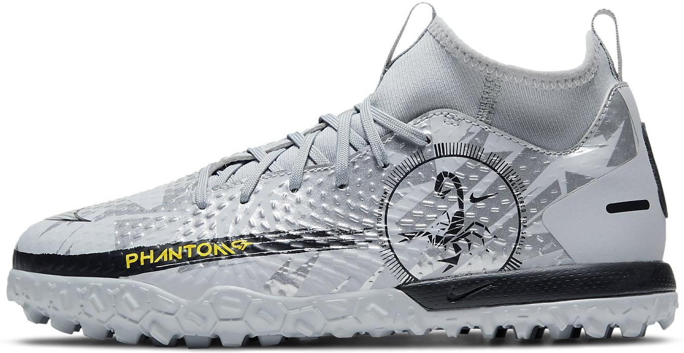 Kopačky Nike JR PHANTOM GT ACADEMY DF TF šedá