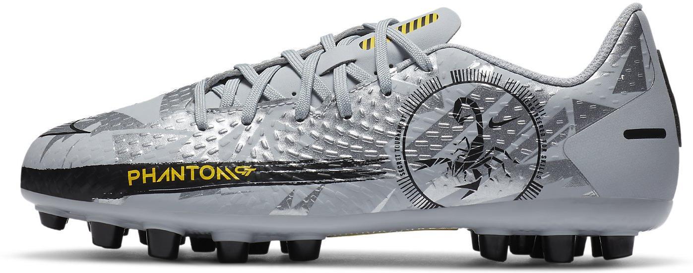 Kopačky Nike JR PHANTOM GT ACADEMY AG šedá