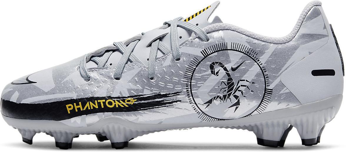 Kopačky Nike JR PHANTOM GT ACADEMY FG/MG šedá