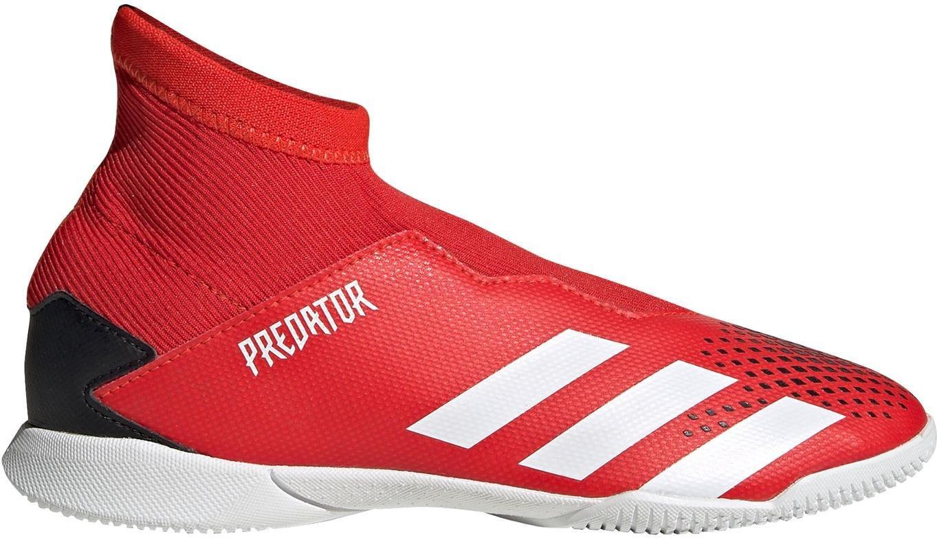 Sálovky adidas PREDATOR 20.3 LL IN J červená