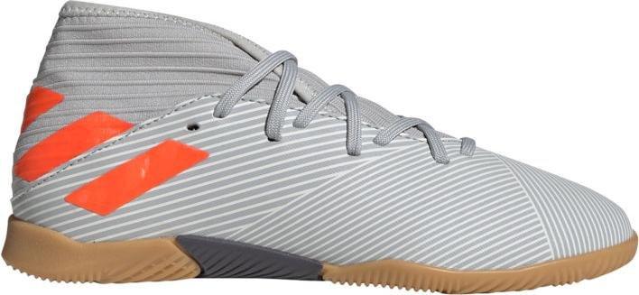Sálovky adidas NEMEZIZ 19.3 IN J šedá