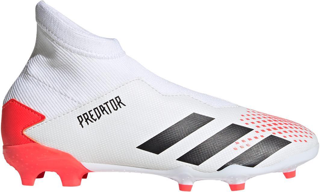 Kopačky adidas PREDATOR 20.3 LL FG J bílá