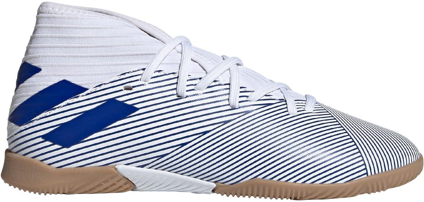 Sálovky adidas NEMEZIZ 19.3 IN J modrá
