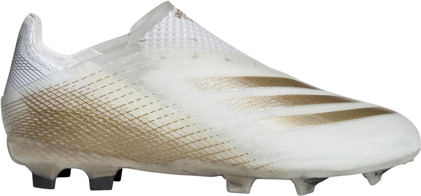 Kopačky adidas X GHOSTED+ FG J bílá