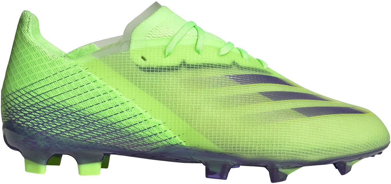Kopačky adidas X GHOSTED.1 FG J zelená