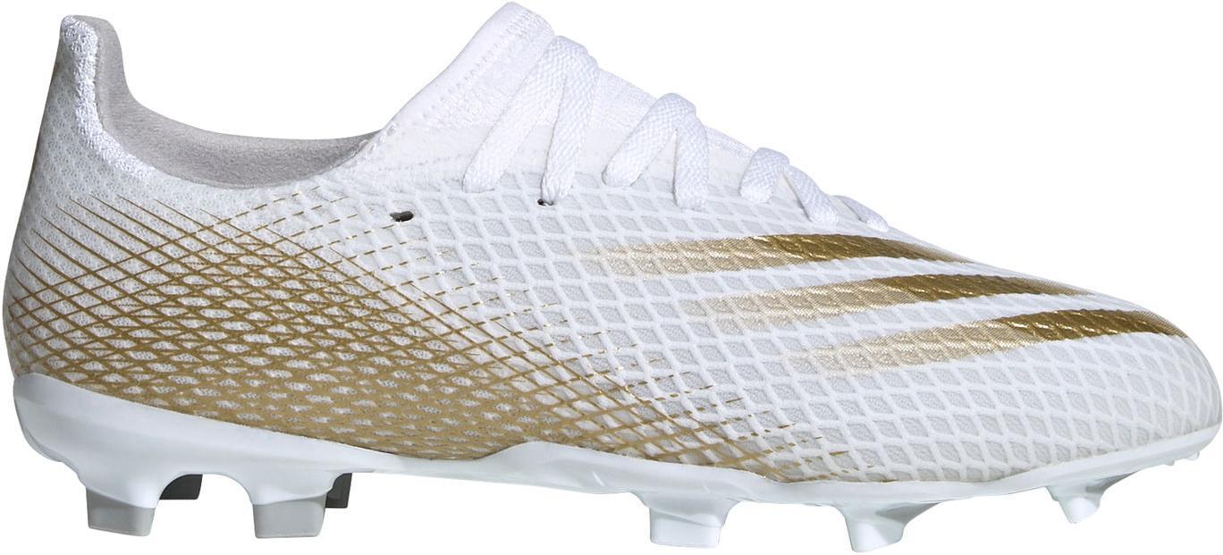 Kopačky adidas X GHOSTED.3 FG J bílá