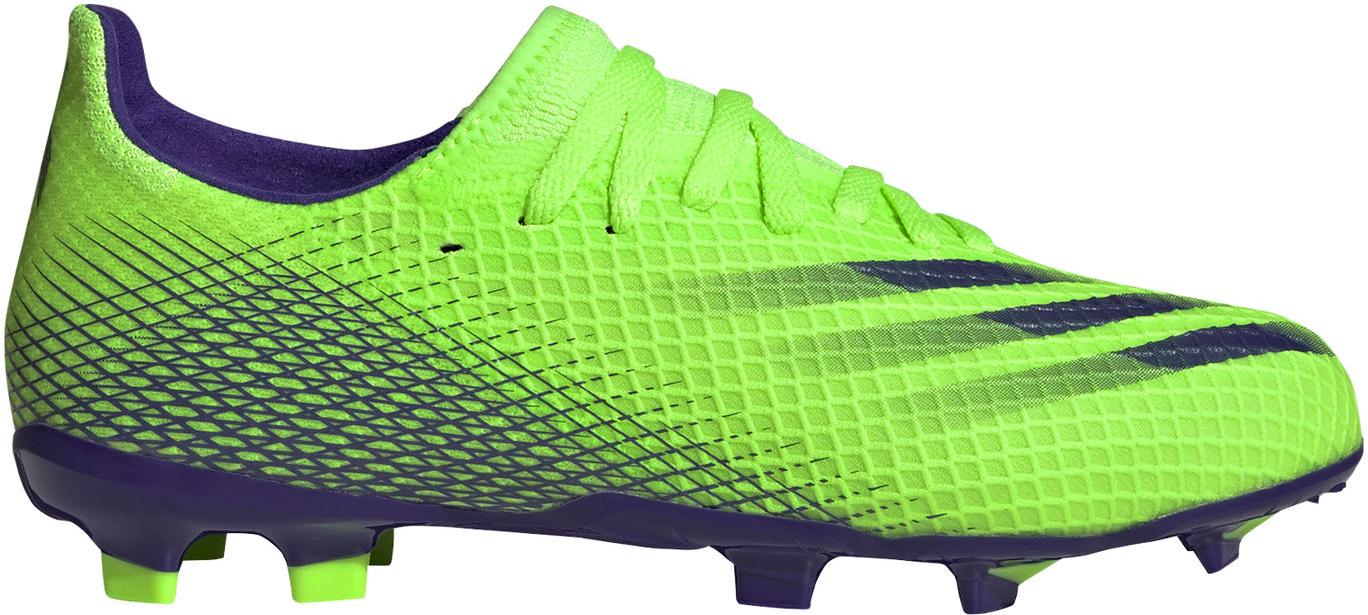 Kopačky adidas X GHOSTED.3 FG J zelená