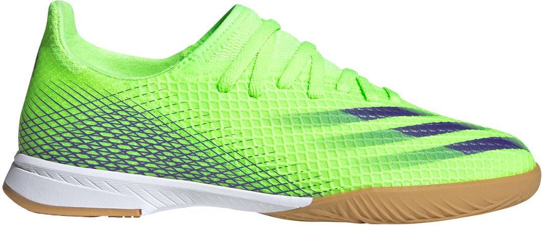 Sálovky adidas X GHOSTED.3 IN J zelená