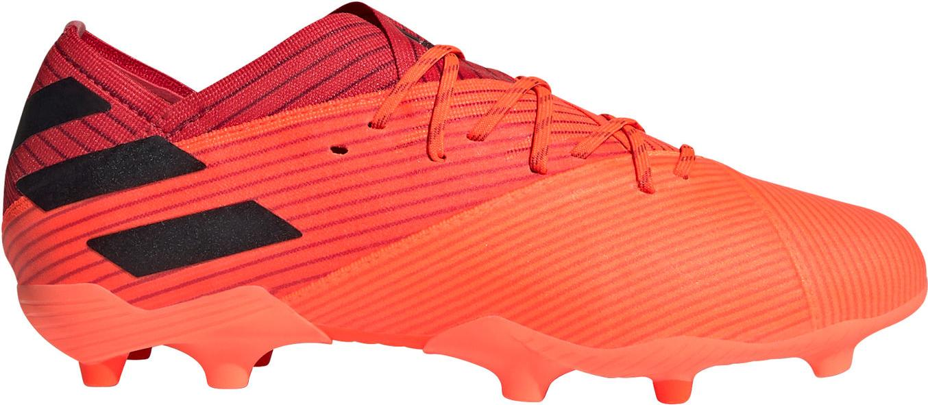 Kopačky adidas NEMEZIZ 19.1 FG J oranžová