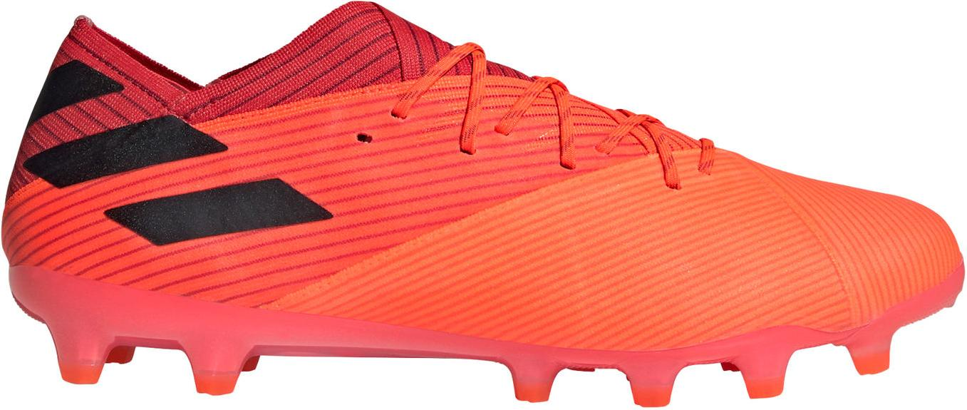 Kopačky adidas NEMEZIZ 19.1 AG oranžová