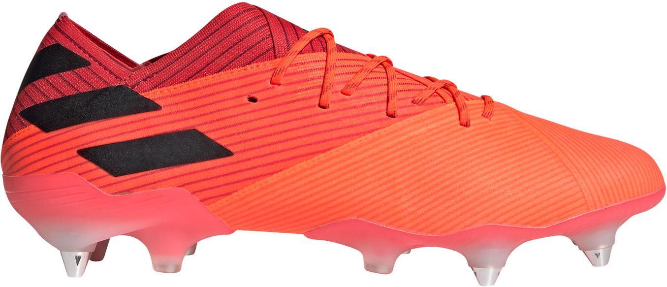 Kopačky adidas NEMEZIZ 19.1 SG oranžová