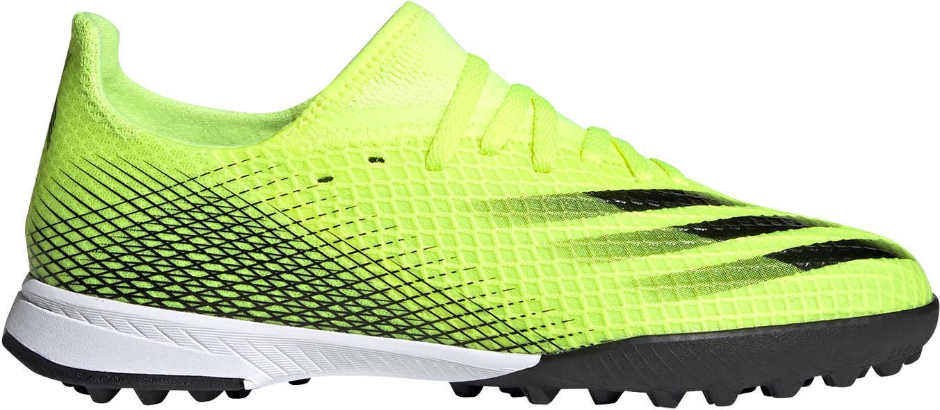 Kopačky adidas X GHOSTED.3 TF J žlutá