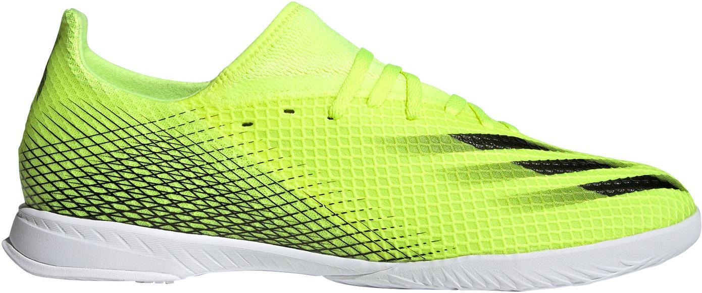 Sálovky adidas X GHOSTED.3 IN žlutá