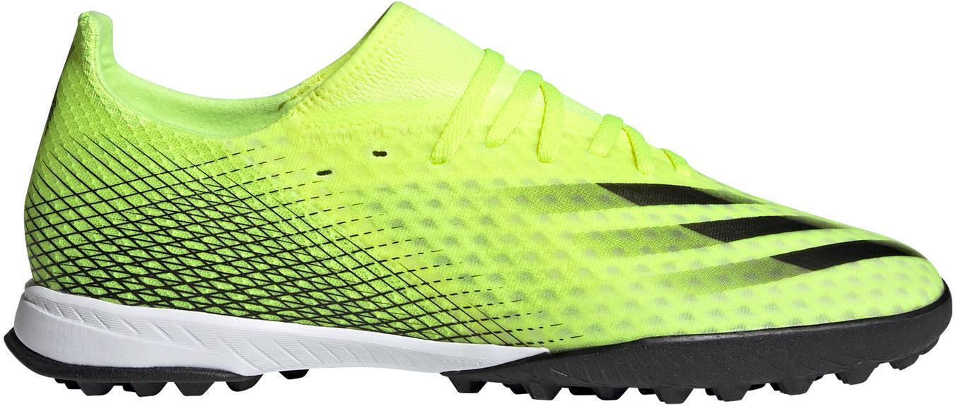 Kopačky adidas X GHOSTED.3 TF žlutá
