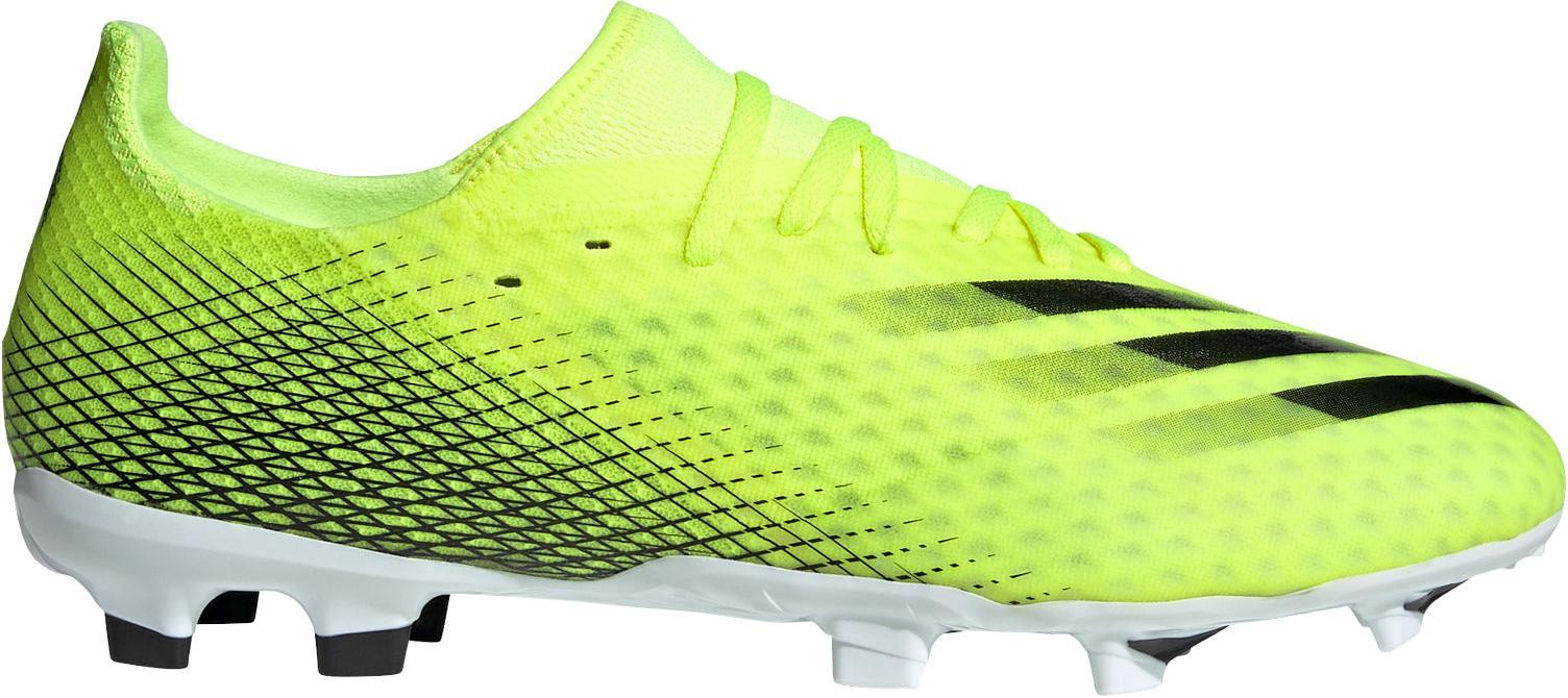 Kopačky adidas X GHOSTED.3 FG žlutá