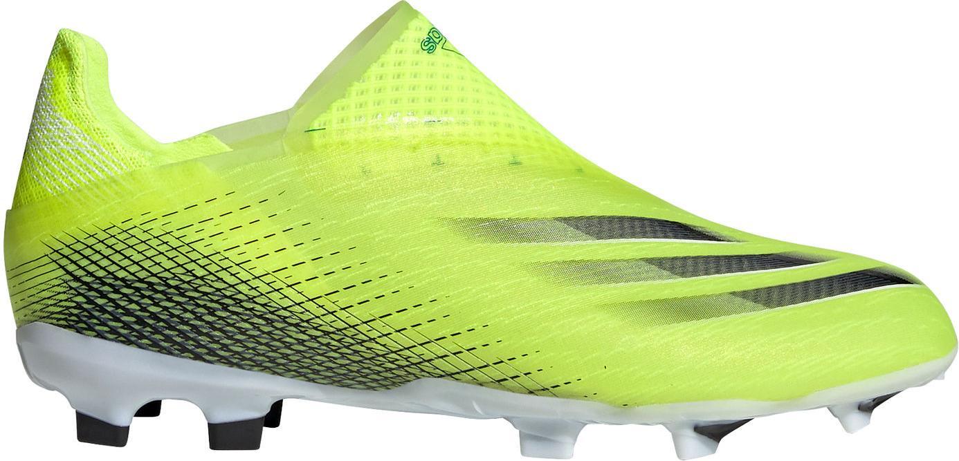 Kopačky adidas X GHOSTED+ FG J žlutá