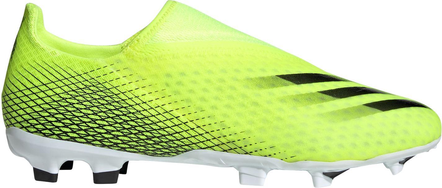 Kopačky adidas X GHOSTED.3 LL FG žlutá
