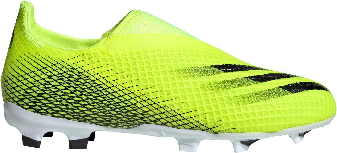 Kopačky adidas X GHOSTED.3 LL FG J zelená