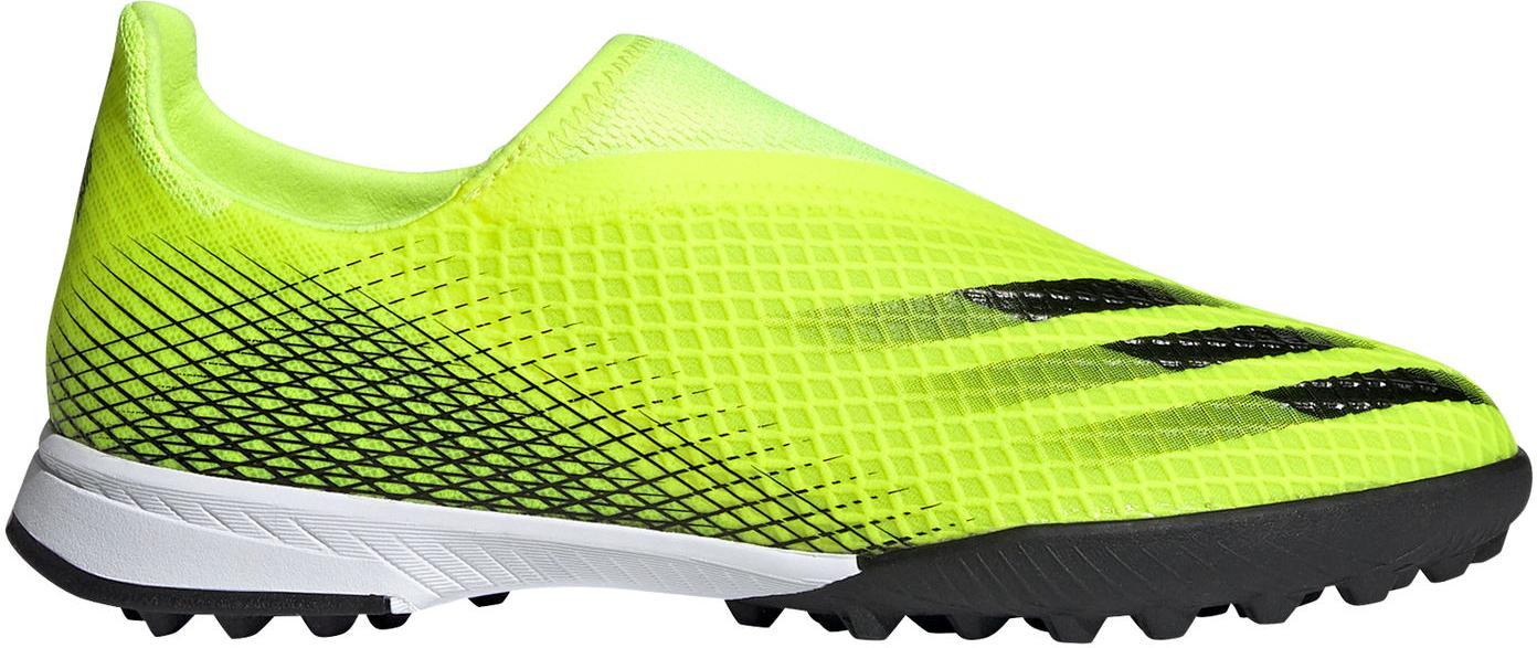 Kopačky adidas X GHOSTED.3 LL TF J žlutá