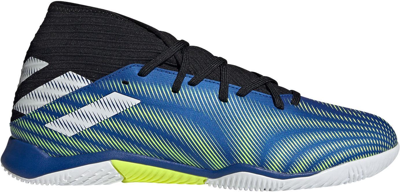 Sálovky adidas NEMEZIZ .3 IN modrá