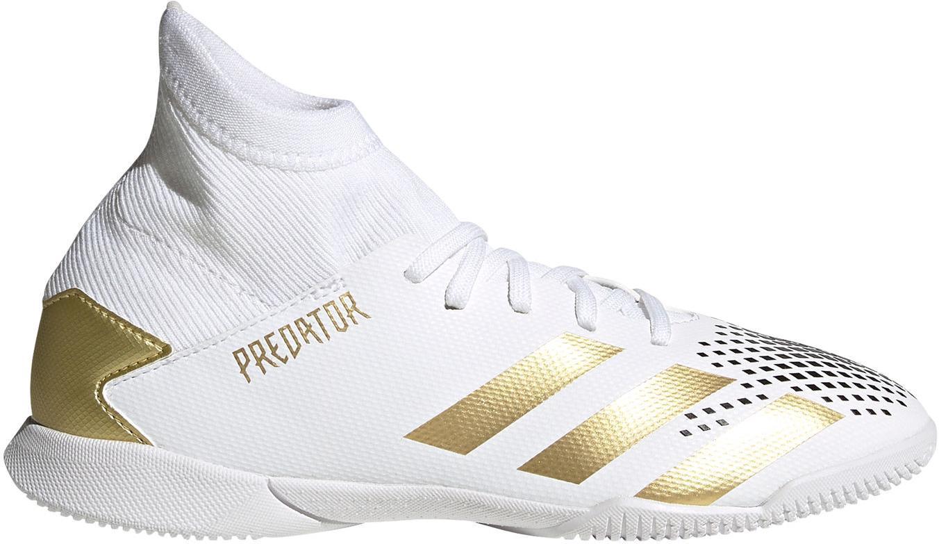 Sálovky adidas PREDATOR 20.3 IN J bílá