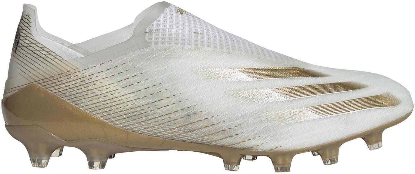 Kopačky adidas X GHOSTED+ AG bílá