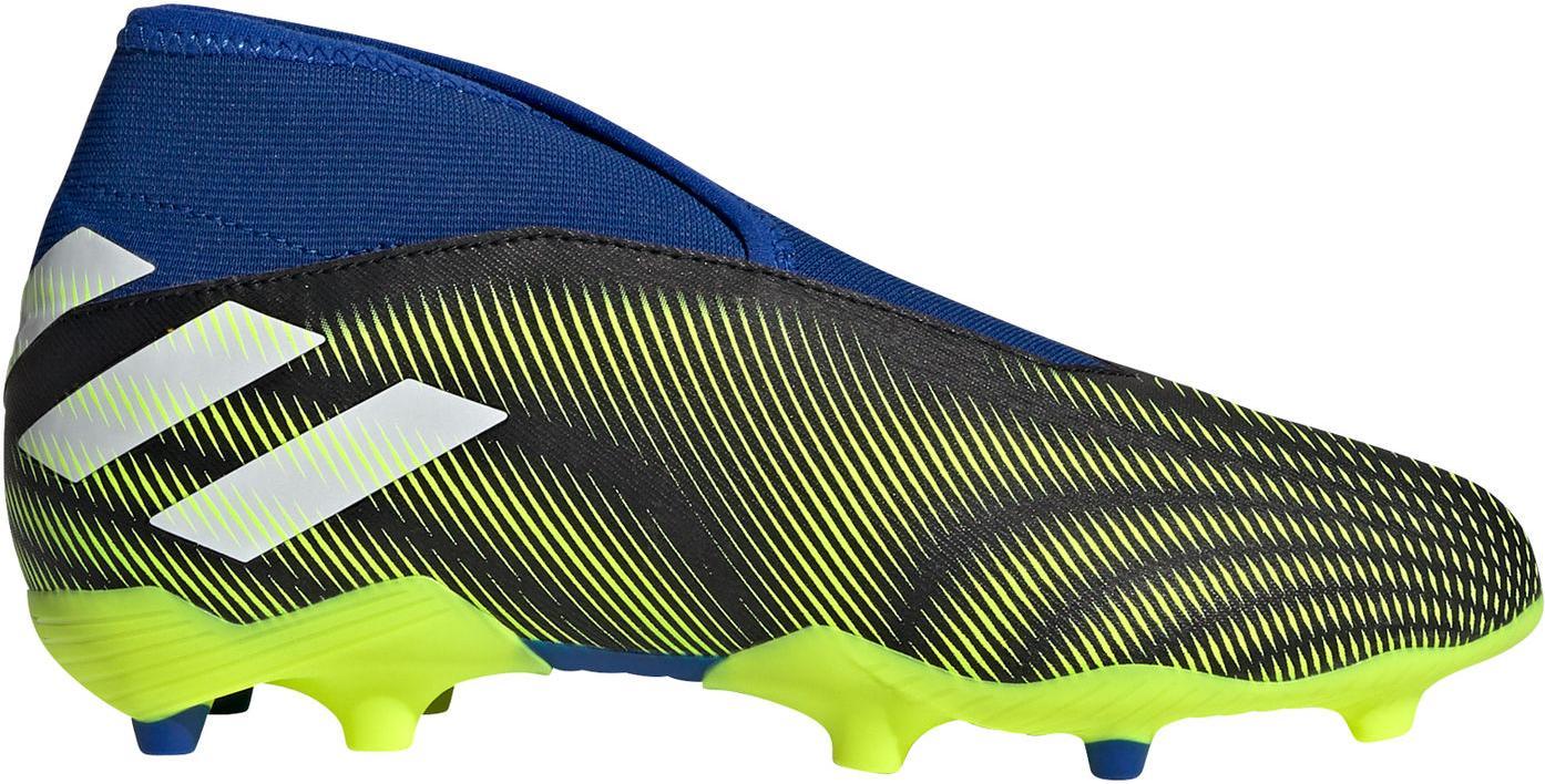 Kopačky adidas NEMEZIZ .3 LL FG J modrá