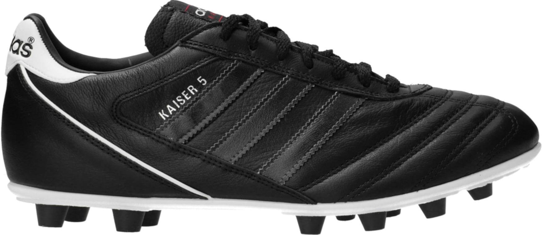 Kopačky adidas  Kaiser 5 Liga FG Black Stripes Schwarz černá